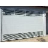 portão de garagem alumínio branco Jurubatuba