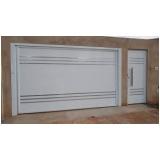portão de garagem basculante de alumínio Consolação