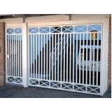 portão de garagem basculante preço Francisco Morato