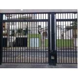 portão de garagem de ferro preço Vila Independência