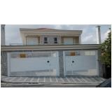 portão de garagem eletrônico preço m2 Jabaquara