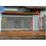 portão de grade para garagem preço Parque Ypê