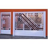 portão de grade para garagem Vila Morumbi
