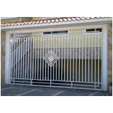 portão de tubo galvanizado Av. 23 de Maio