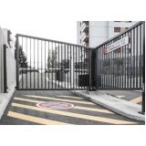 portão eletrônico industrial preço m2 Vila Moraes