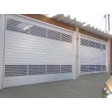 portão para condomínio branco valores Salesópolis