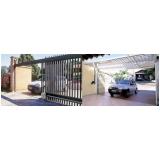 portão para condomínio valores Santa Efigênia