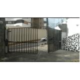portão pivotante condomínio valores Largo do Arouche