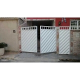 portão pivotante condomínio Jardim Previdência