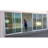 portas alumínio com vidro Ipiranga