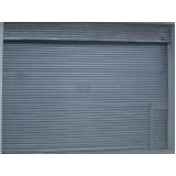 portas de aço de enrolar automáticas Av. Bernadino de Campos