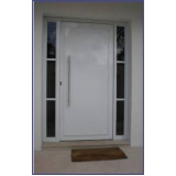 portas de alumínio branco Balneário Mar Paulista