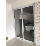 portas de alumínio com vidro Caieiras