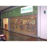 portas de comércio de enrolar Ribeirão Pires