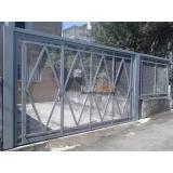 portões basculantes galvanizado Parque Fernanda