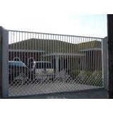 portões de aço galvanizado Socorro