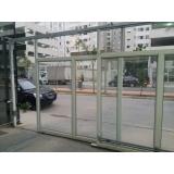 portões de correr galvanizado Mairiporã