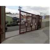 portões de correr para condomínio Itapecerica da Serra