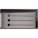 portões de garagem basculantes de alumínio Taboão da Serra