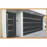 portões de garagem de alumínio Bom Retiro