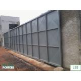 portões de garagem de correr Avenida Miguel Yunes