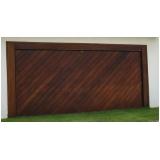 portões de garagem de ferro Ibirapuera
