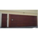 portões eletrônicos de madeira Vila Santo Estéfano
