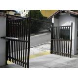 Portão Eletrônico Pivotante Duplo