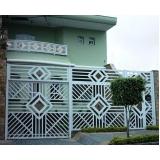 portões ferro galvanizado Bixiga