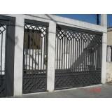 portões galvanizado Praça Oswaldo Cruz