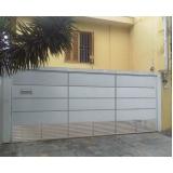 portões para garagem Cerqueira César