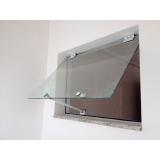 preço de janela basculante de vidro Higienópolis