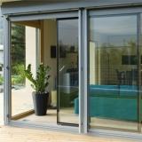 qual o preço de porta alumínio com vidro Parque Bristol