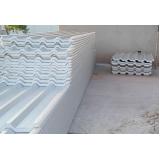 telha ondulada de alumínio Vila Santo Estéfano