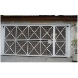 valor de manutenção de portão de alumínio Santa Cecília