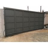 venda de portão de correr para garagem Rio Bonito